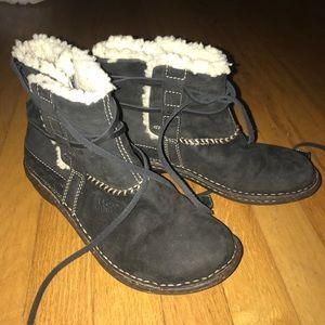 Ugg Black Winter Booties